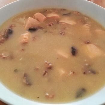 Garnelen-Kartoffelsuppe