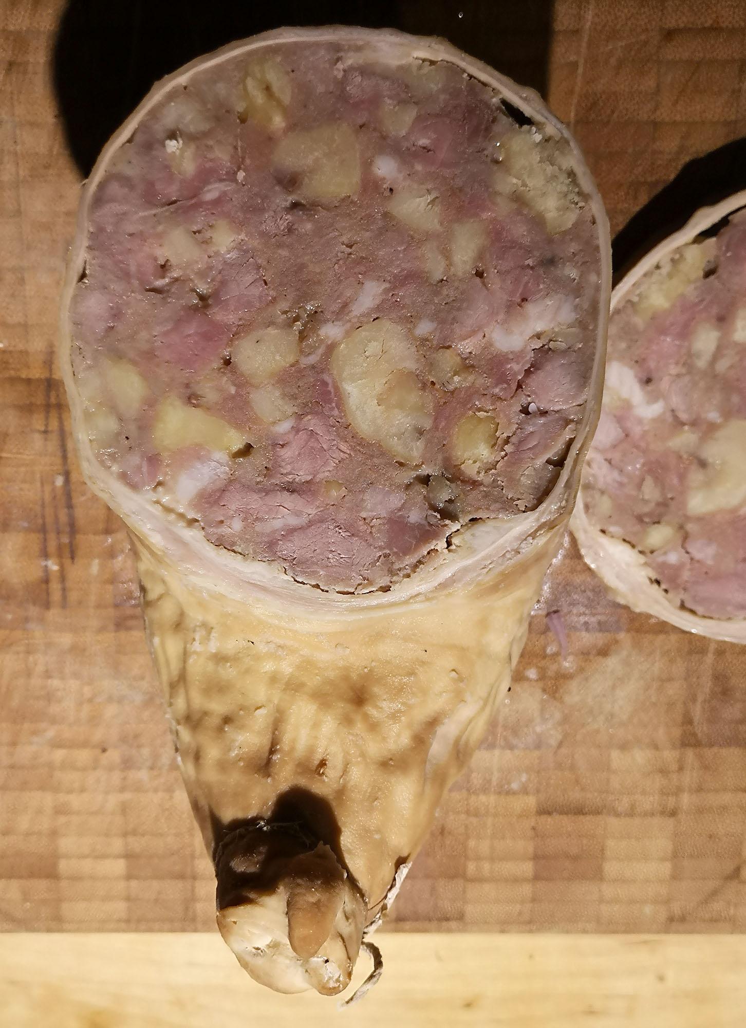 Saumagen – das pfälzische Regionalgericht mit Kastanien