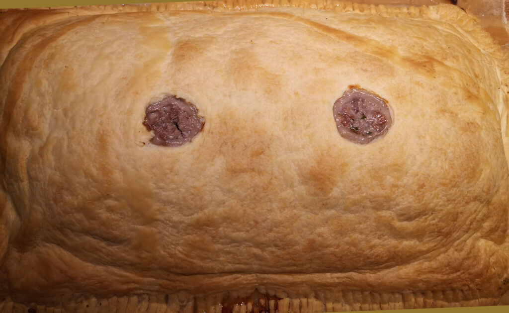 Münstertaler Pastete fertig gebacken