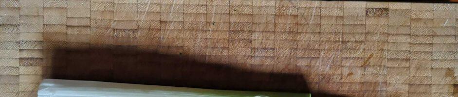 Lauchsuppe mitt Shiitakepilzen und Rambol